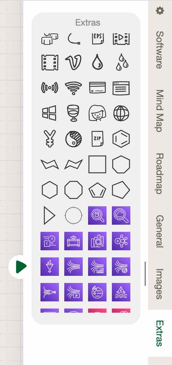 Find more Sketchboard icons from the Extras section
